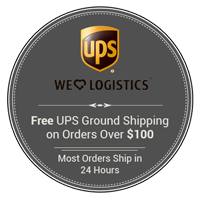Free UPS Ground Shipping on orders over $100.00